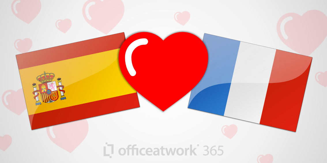 Apps now in Spanish and French