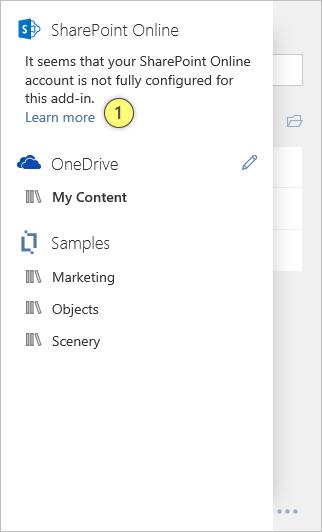 Content Chooser Setup SharePoint Online