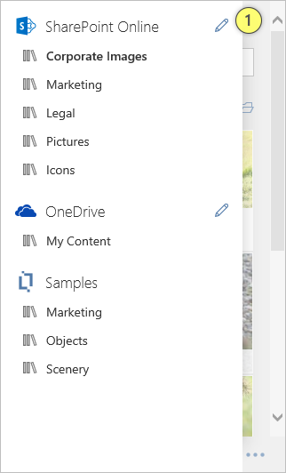 Content Chooser SharePoint Online Edit