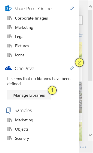 Manage OneDrive Libraries