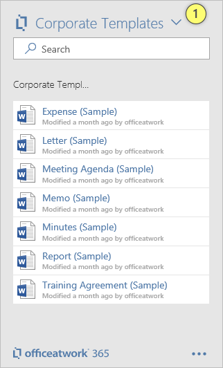 Template Chooser Setup SharePoint Online