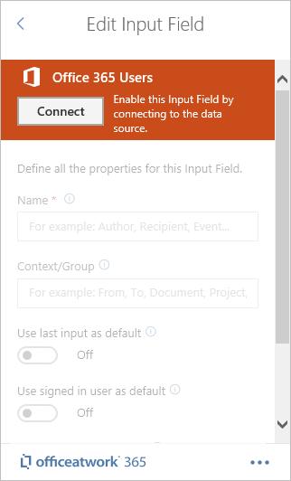 Designer connecting