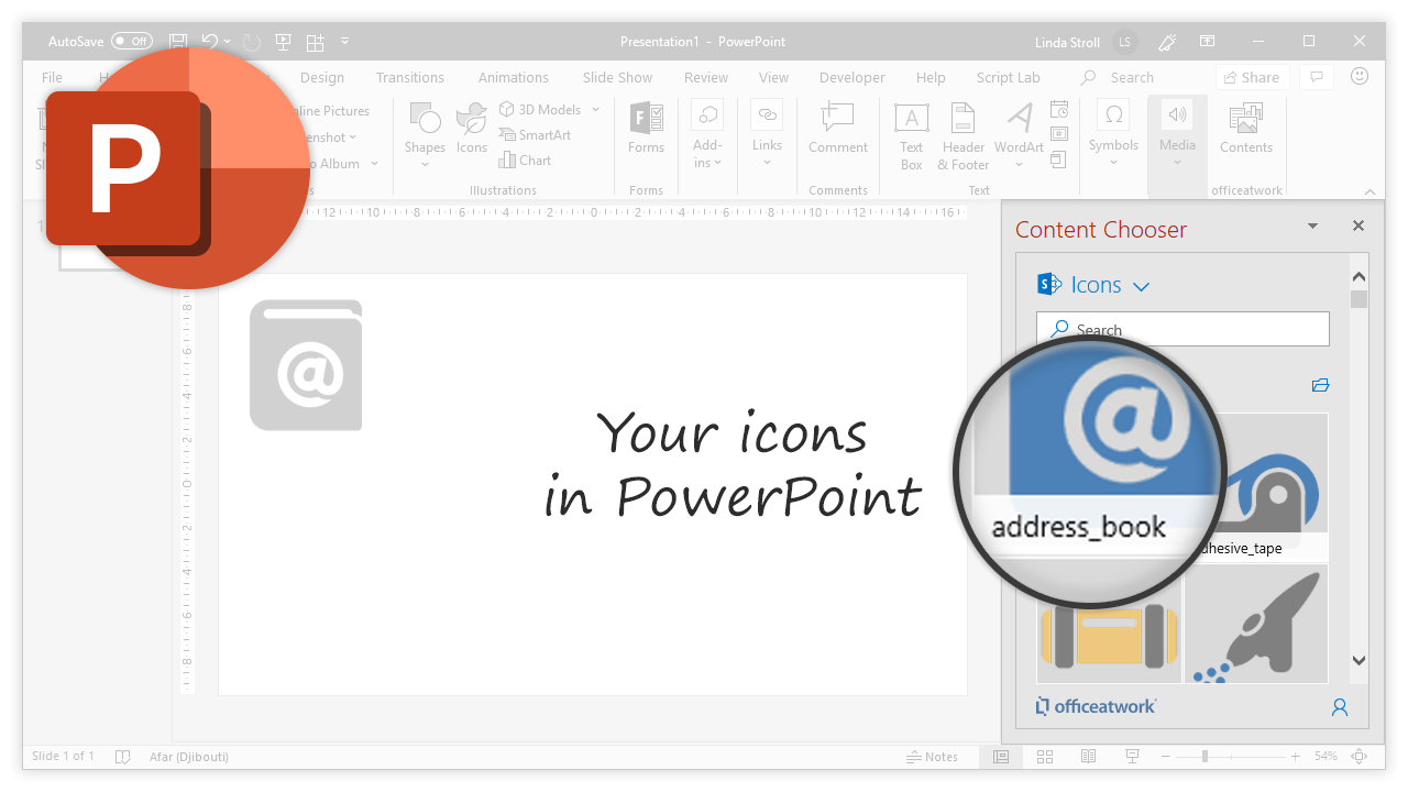 Content Chooser for Office, PowerPoint