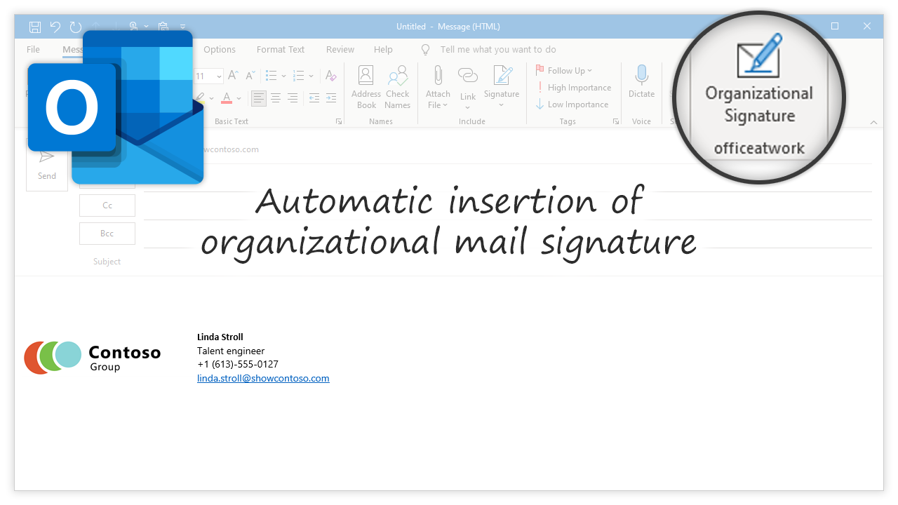 Mail Signature for Outlook